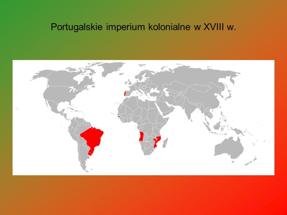 Portugalskie imperium kolonialne w XVIII w.