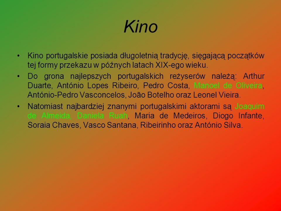 Kino Kino portugalskie posiada długoletnią tradycję, sięgającą początków tej formy przekazu w późnych latach XIX-ego wieku.