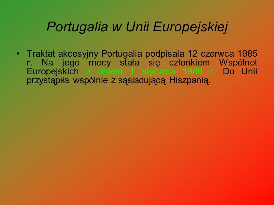 Portugalia w Unii Europejskiej