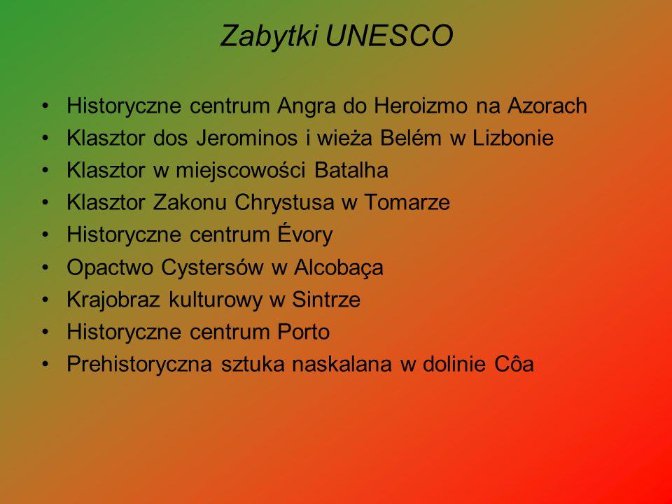 Zabytki UNESCO Historyczne centrum Angra do Heroizmo na Azorach