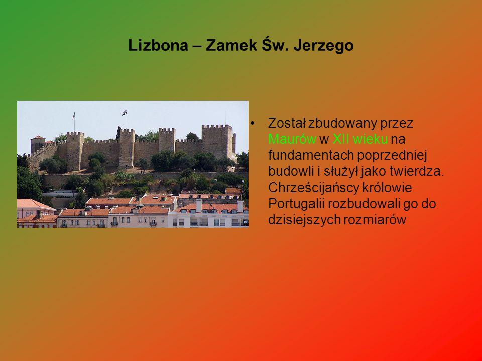 Lizbona – Zamek Św. Jerzego