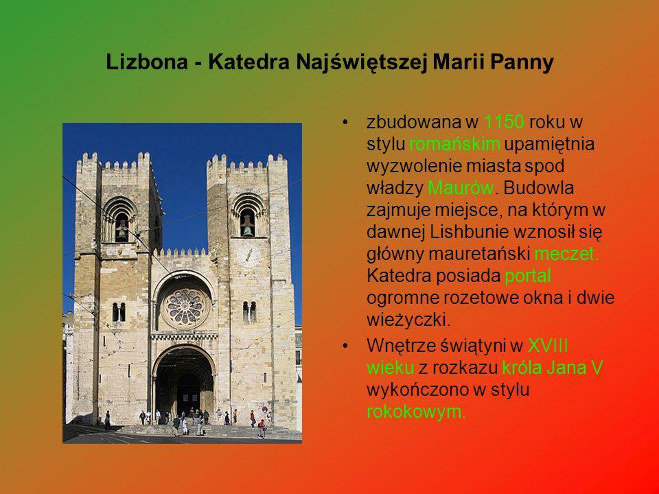 Lizbona - Katedra Najświętszej Marii Panny