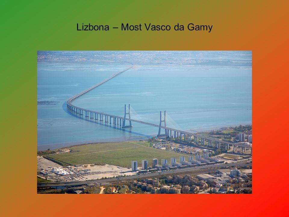 Lizbona – Most Vasco da Gamy