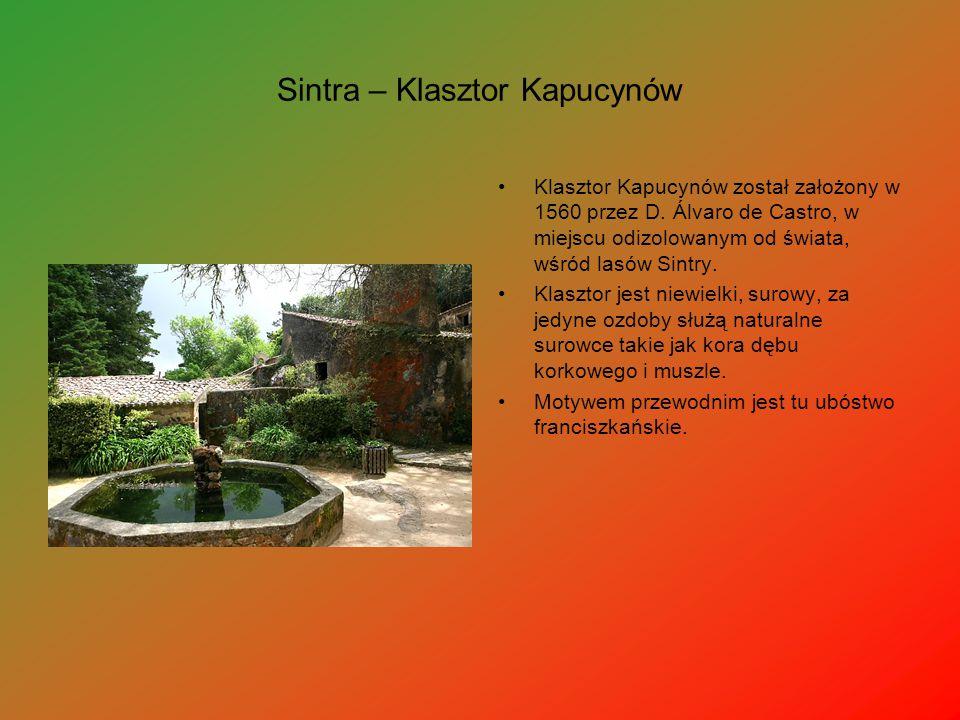 Sintra – Klasztor Kapucynów