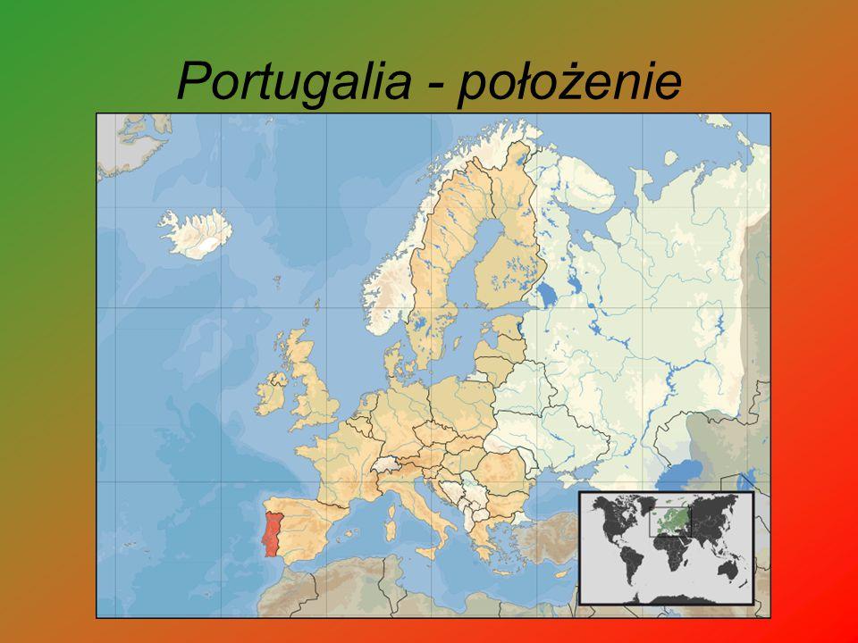 Portugalia - położenie