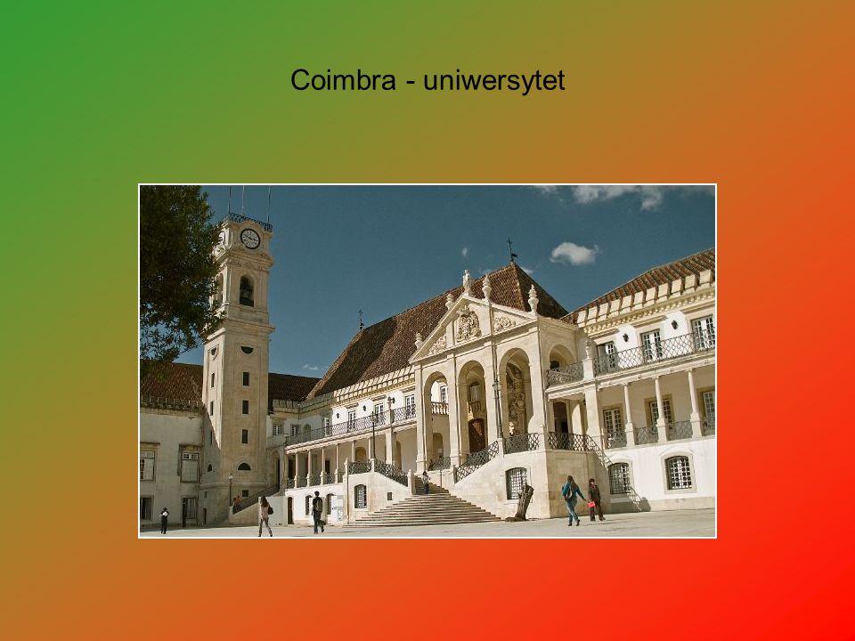 Coimbra - uniwersytet