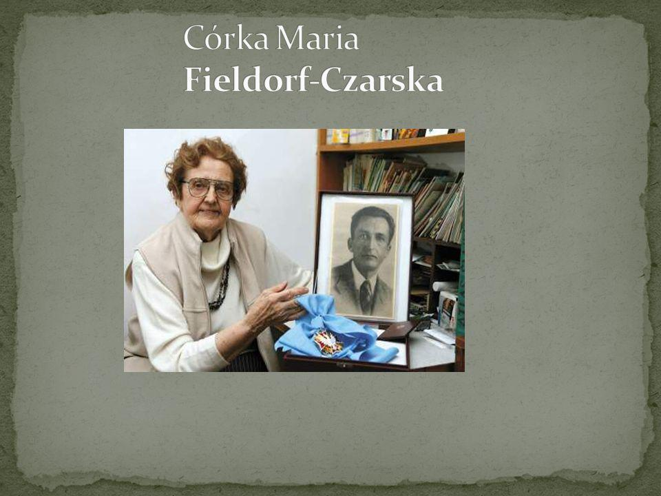 Córka Maria Fieldorf-Czarska