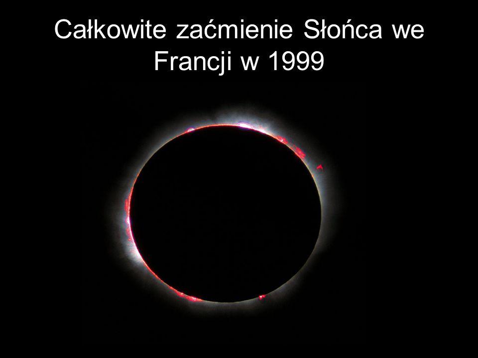 Całkowite zaćmienie Słońca we Francji w 1999