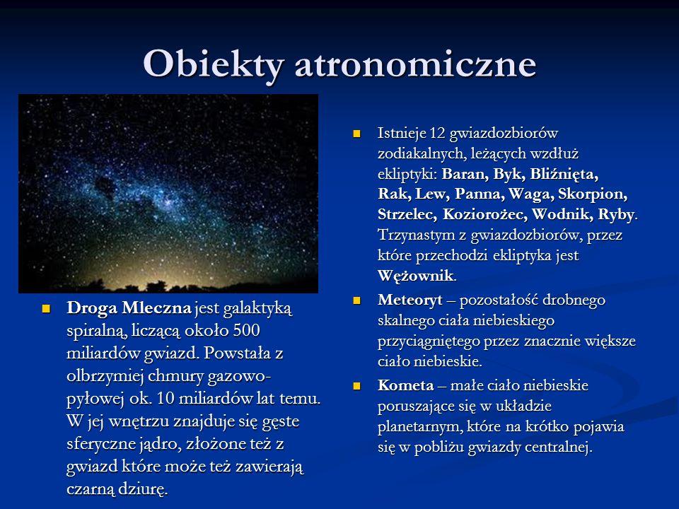 Obiekty atronomiczne