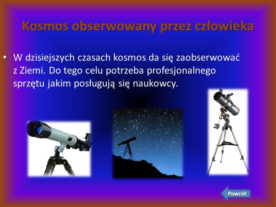 Kosmos obserwowany przez człowieka