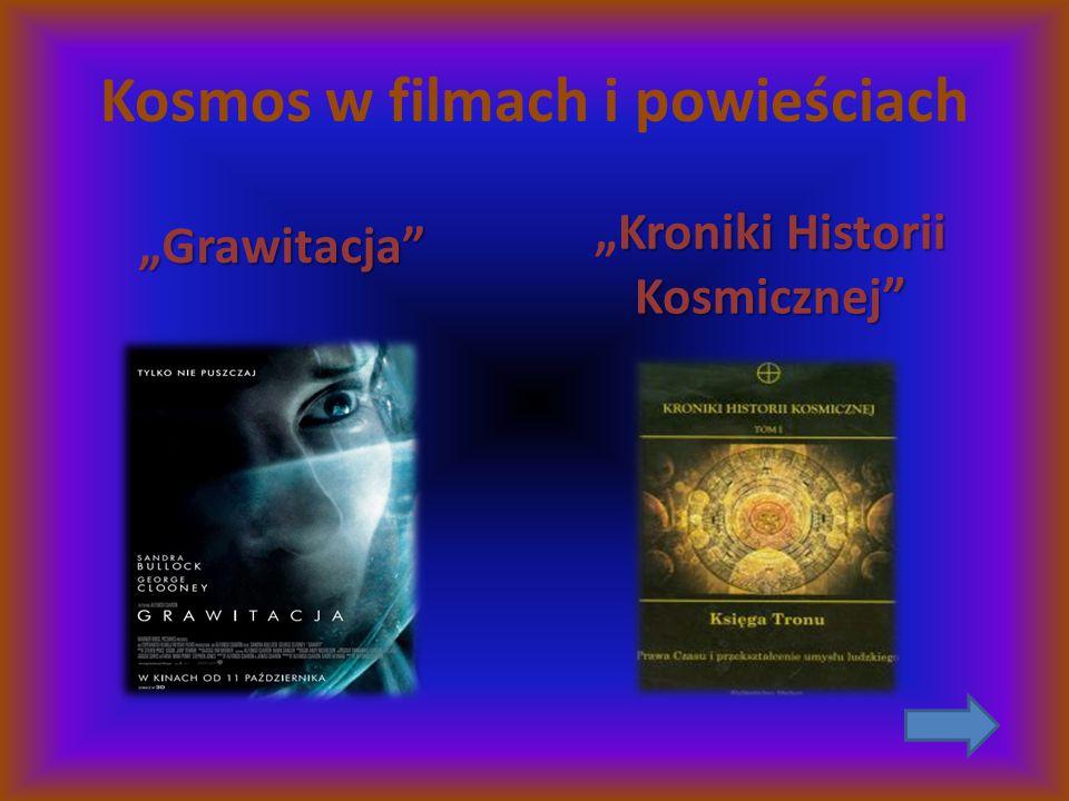 Kosmos w filmach i powieściach