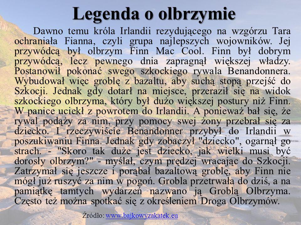 Legenda o olbrzymie