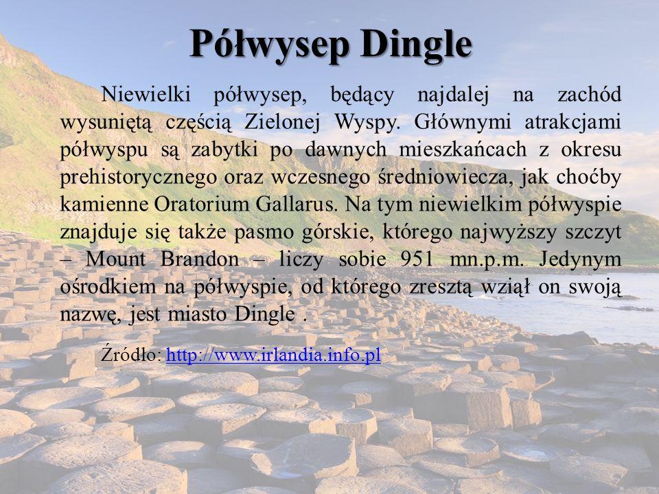 Półwysep Dingle Źródło: http://www.irlandia.info.pl
