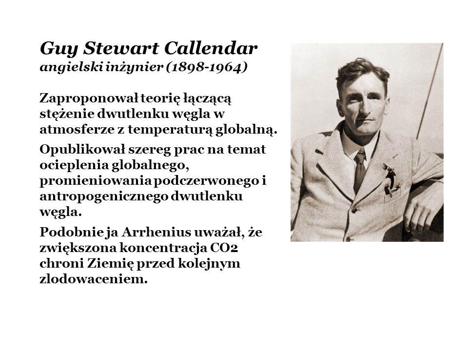 Guy Stewart Callendar angielski inżynier (1898-1964)