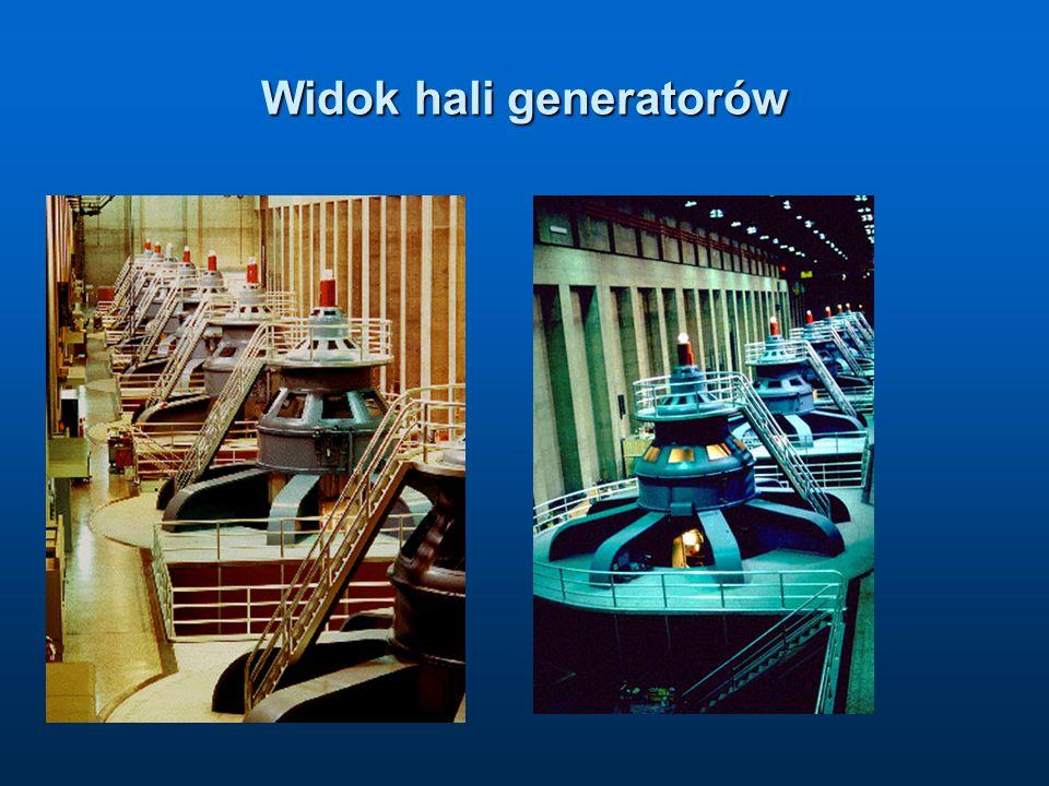 Widok hali generatorów