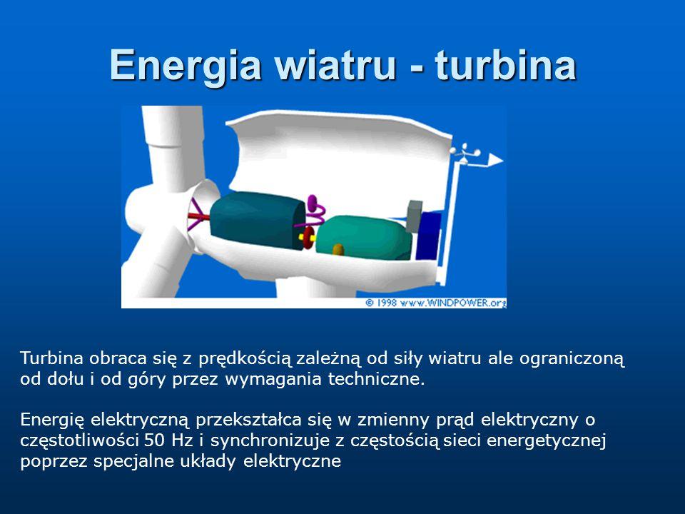 Energia wiatru - turbina