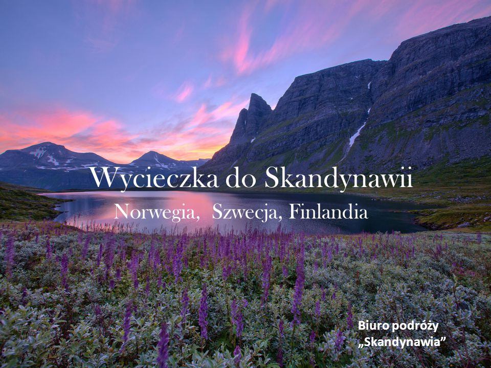 Wycieczka do Skandynawii