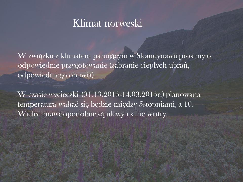 Klimat norweski