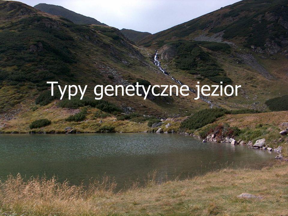 Typy genetyczne jezior