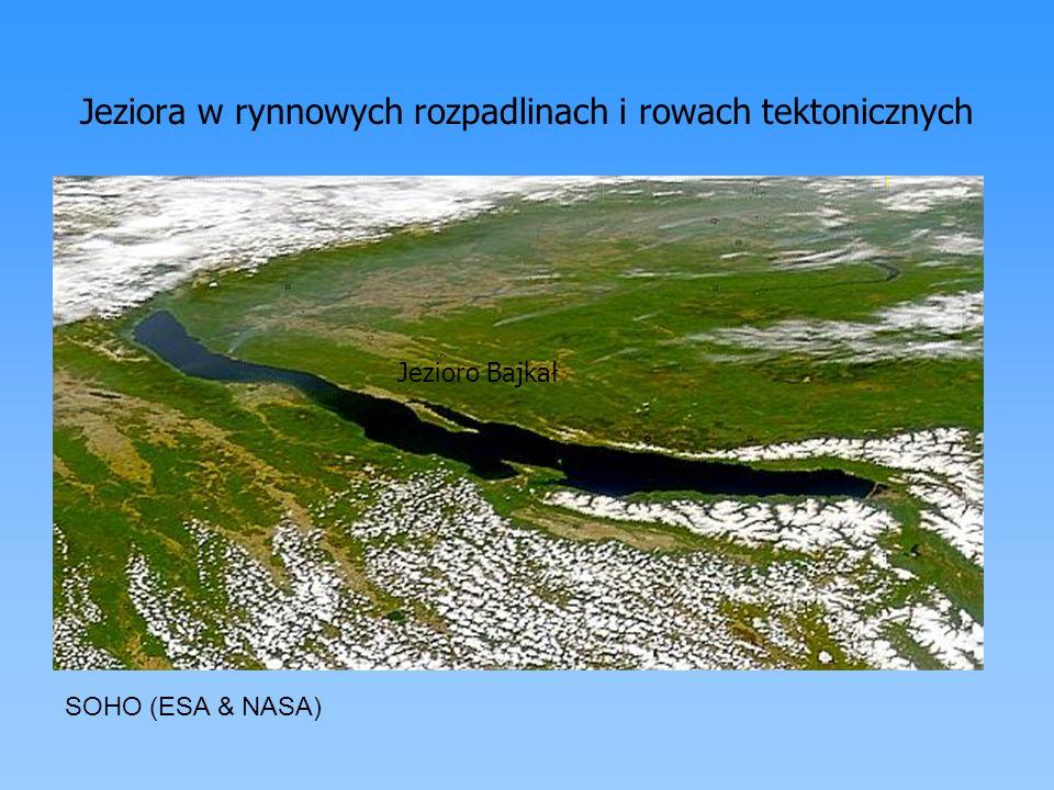 Jeziora w rynnowych rozpadlinach i rowach tektonicznych