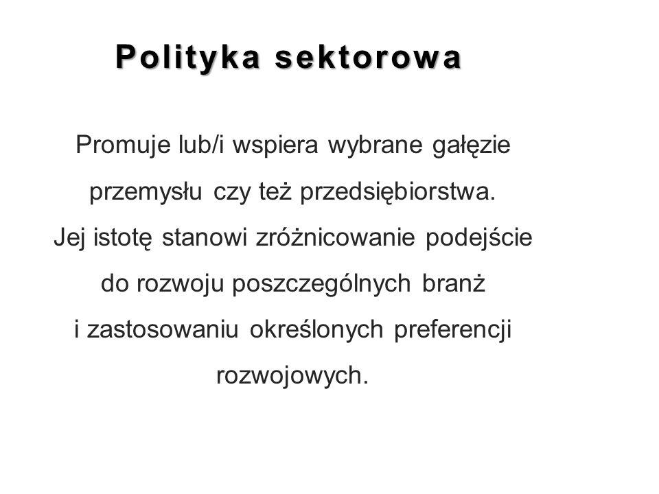Polityka sektorowa