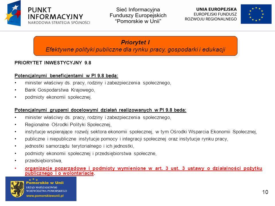 Efektywne polityki publiczne dla rynku pracy, gospodarki i edukacji
