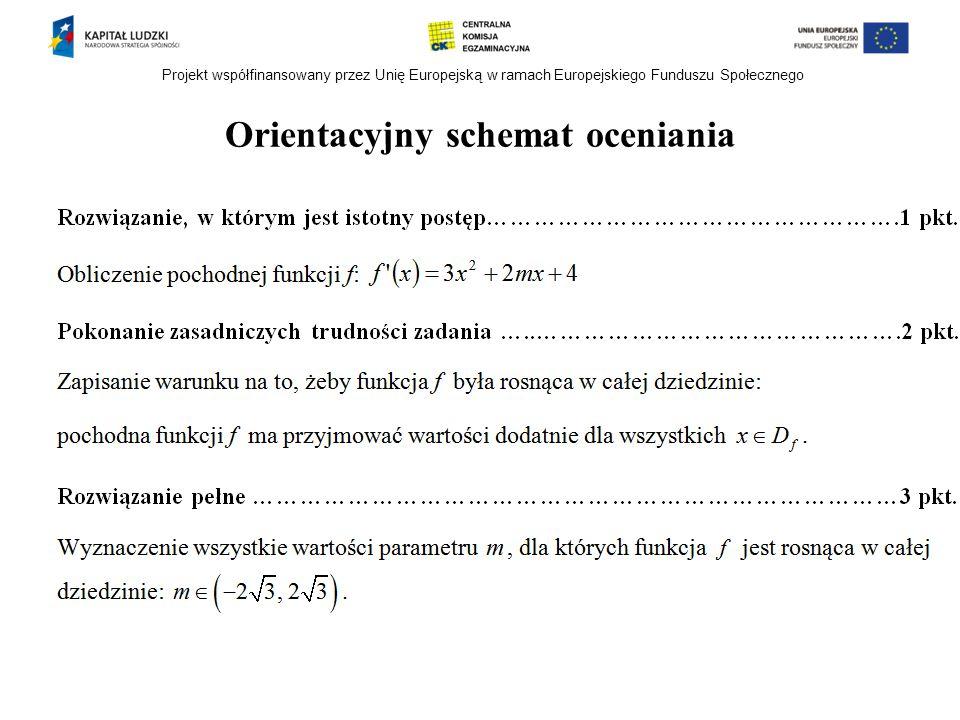Orientacyjny schemat oceniania