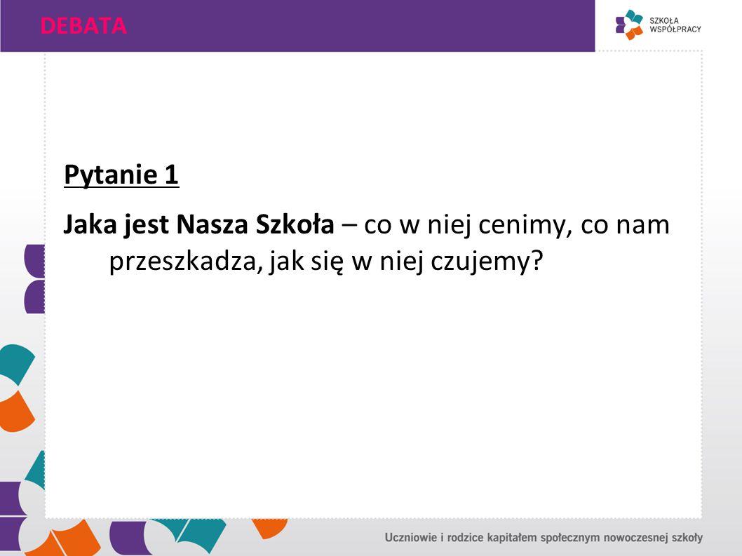DEBATA Pytanie 1.