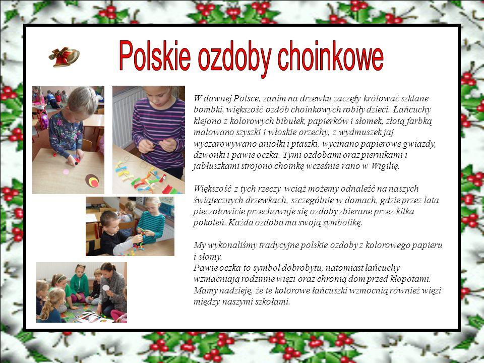 Polskie ozdoby choinkowe