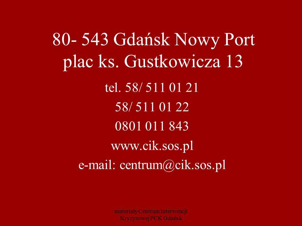 80- 543 Gdańsk Nowy Port plac ks. Gustkowicza 13