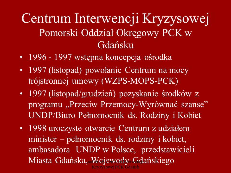 Centrum Interwencji Kryzysowej Pomorski Oddział Okręgowy PCK w Gdańsku