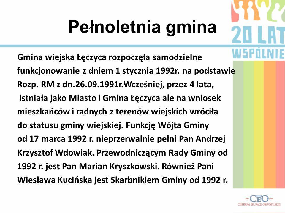 Pełnoletnia gmina Gmina wiejska Łęczyca rozpoczęła samodzielne