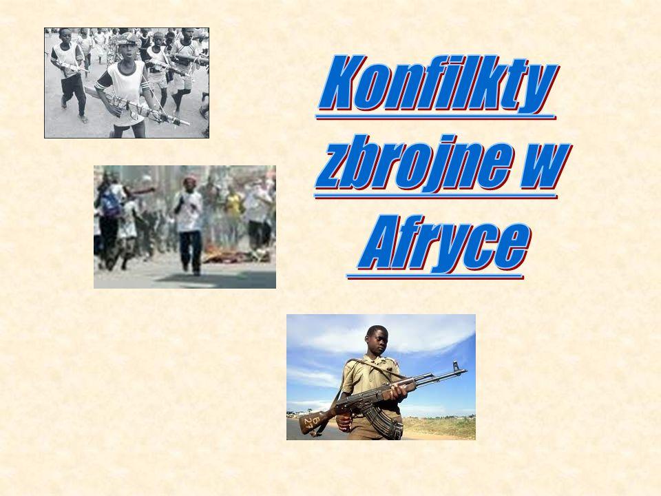 Konfilkty zbrojne w Afryce