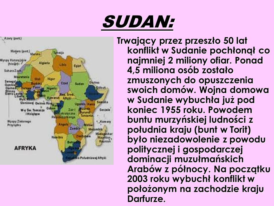SUDAN: