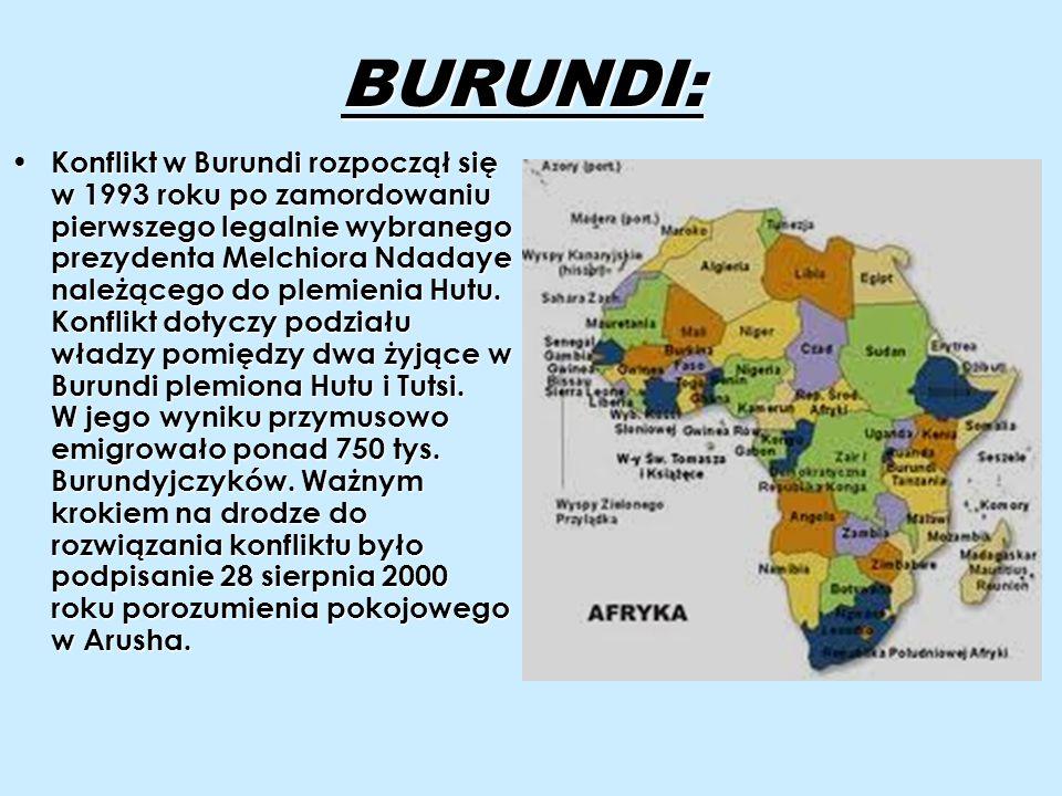 BURUNDI: