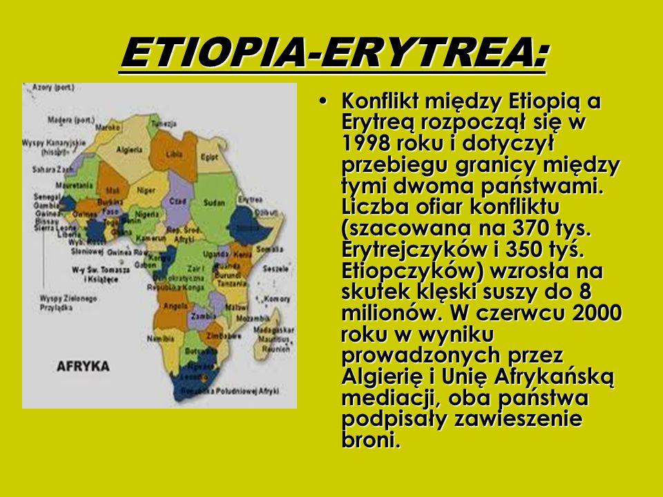 ETIOPIA-ERYTREA: