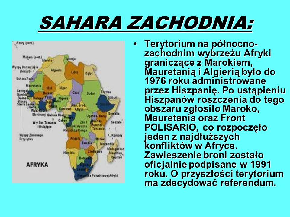 SAHARA ZACHODNIA: