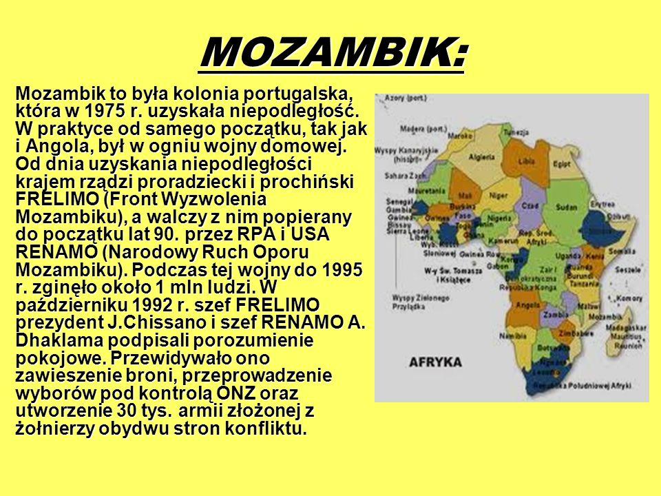 MOZAMBIK: