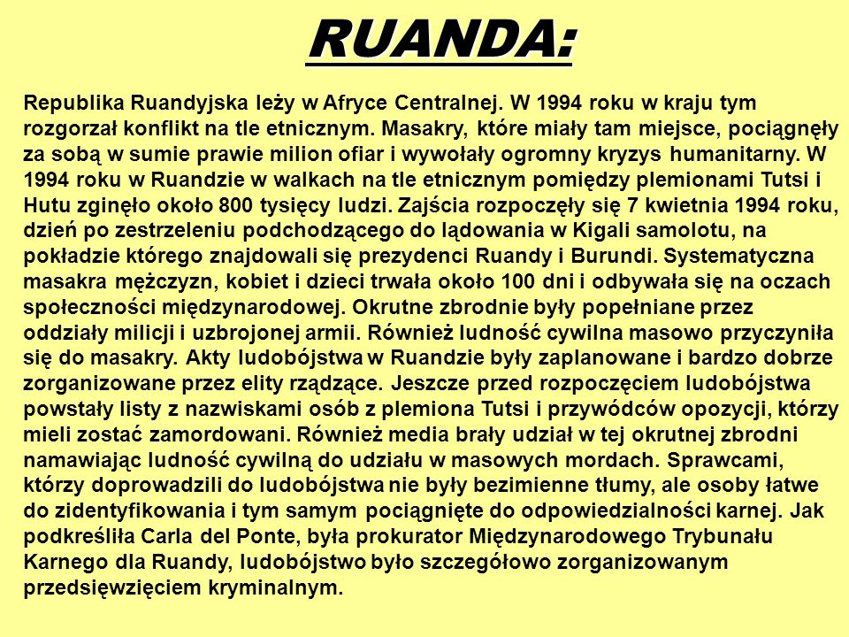 RUANDA: