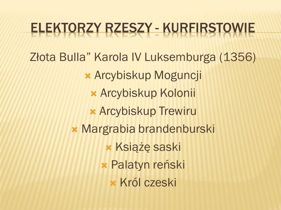Elektorzy Rzeszy - Kurfirstowie