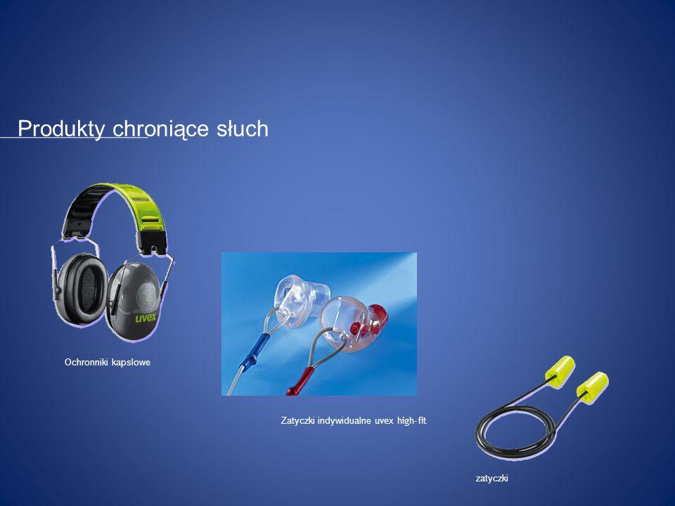 Produkty chroniące słuch