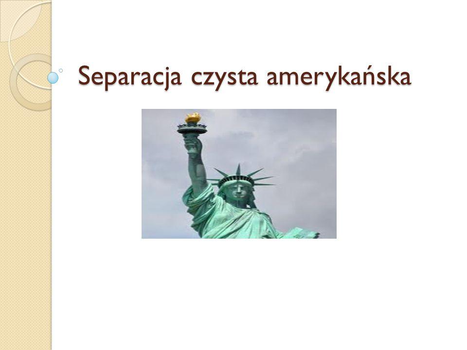 Separacja czysta amerykańska