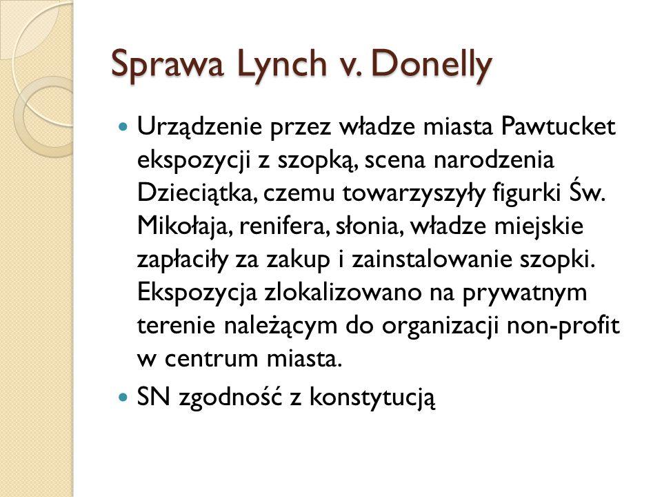 Sprawa Lynch v. Donelly