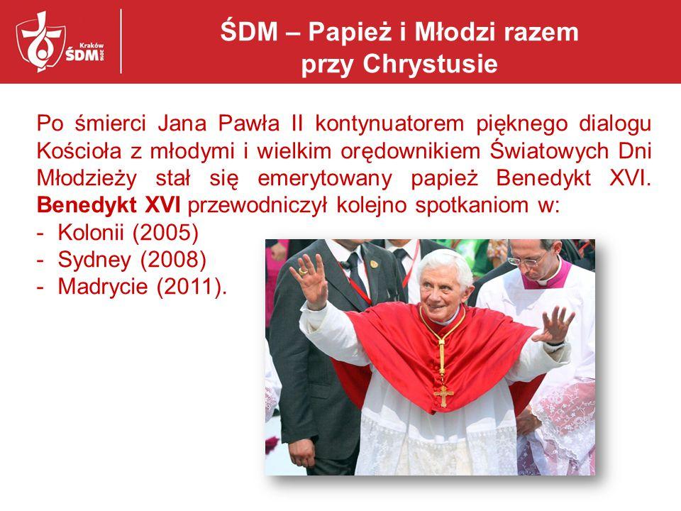 ŚDM – Papież i Młodzi razem przy Chrystusie