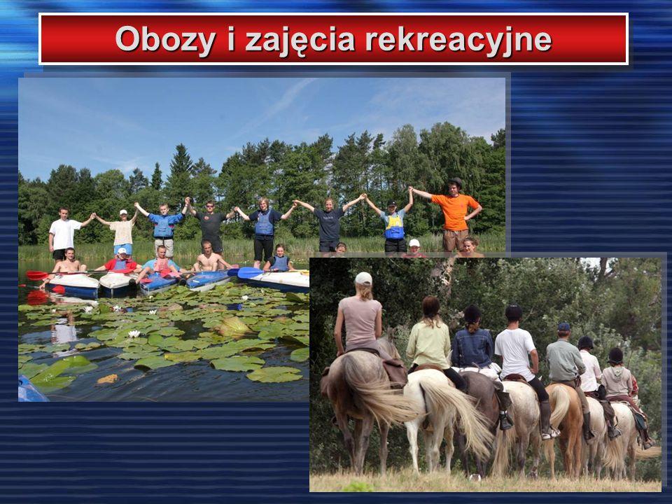 Obozy i zajęcia rekreacyjne