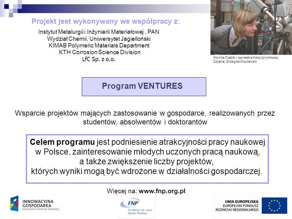 Projekt jest wykonywany we współpracy z: