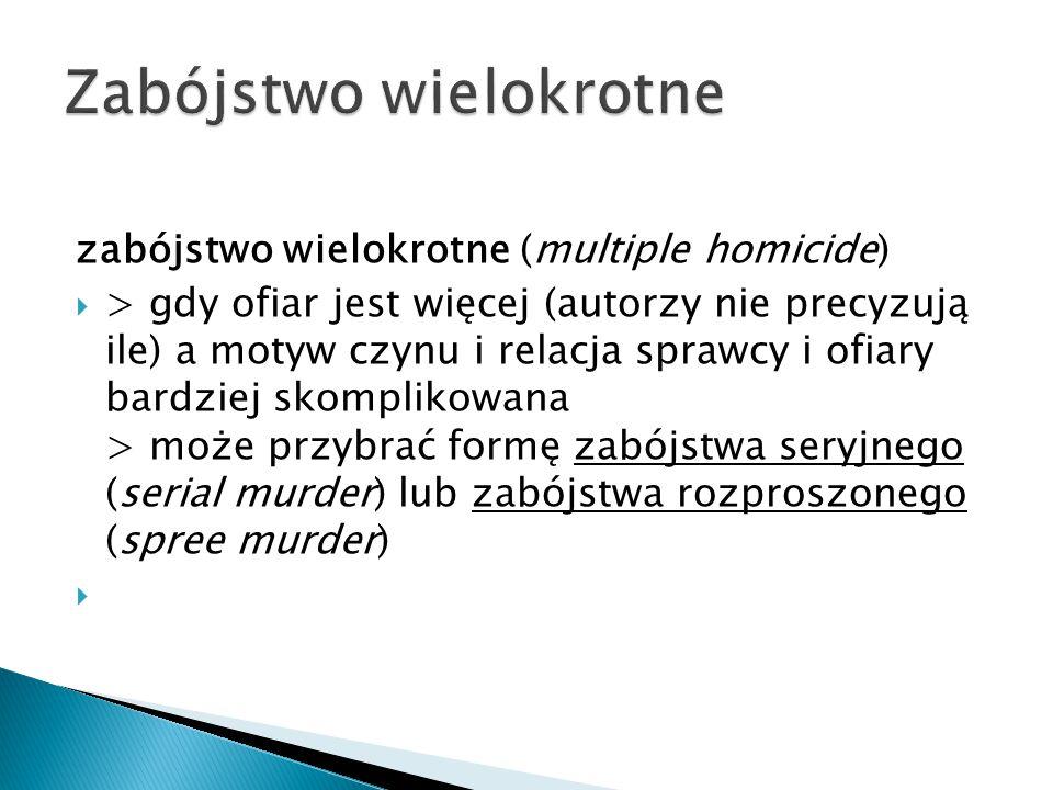 Zabójstwo wielokrotne