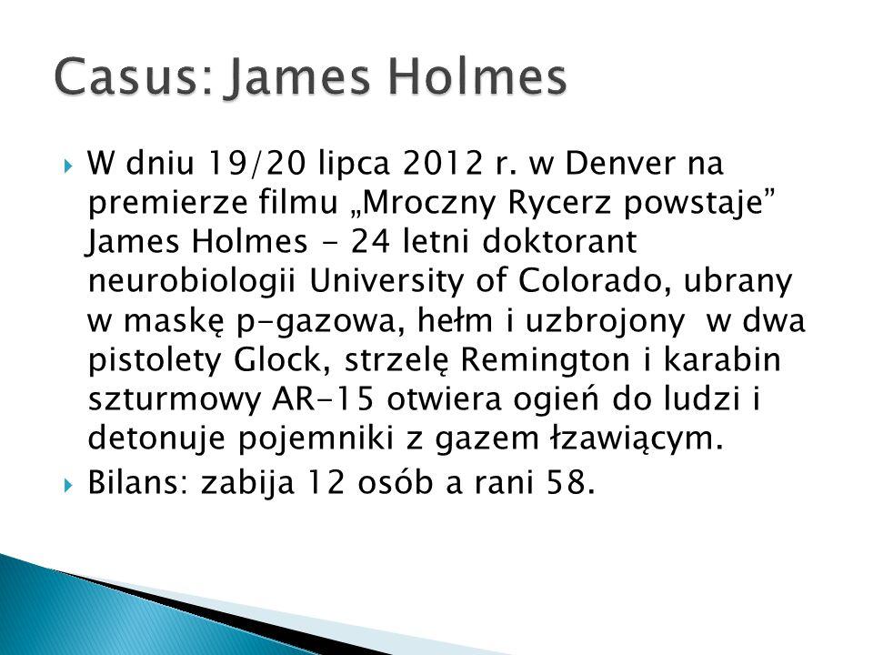 Casus: James Holmes