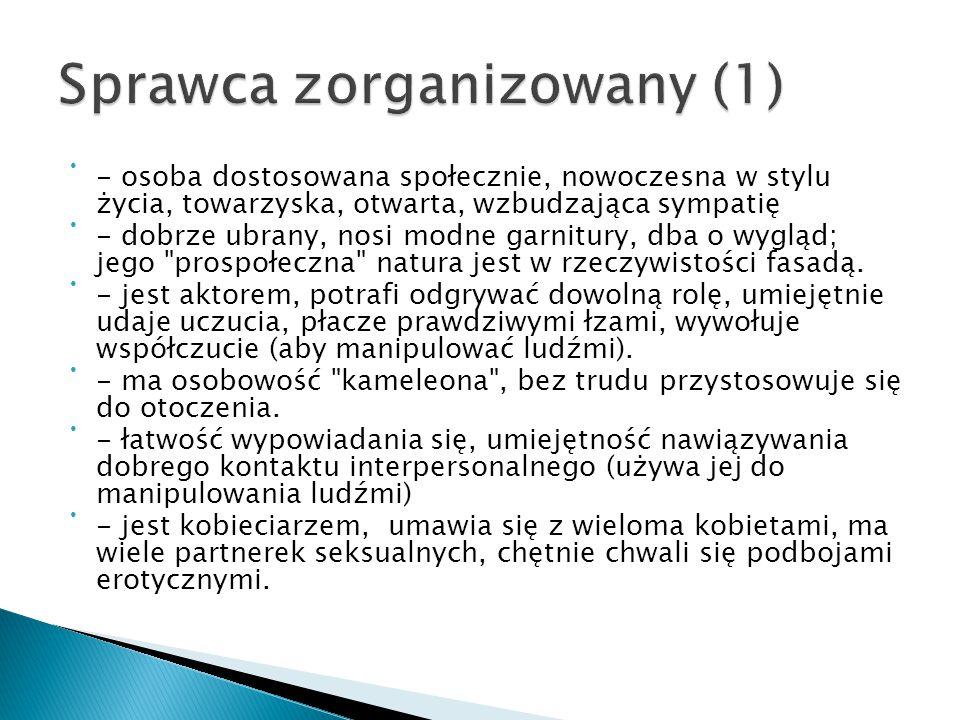 Sprawca zorganizowany (1)