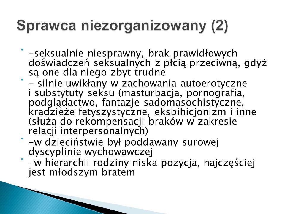 Sprawca niezorganizowany (2)